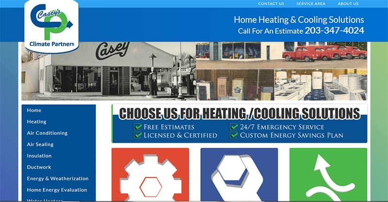 Climate Partners -Central Station Marketing HVAC client