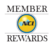 NCI Rewards Logo