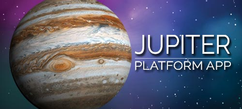 Jupiter Platform APP for Your Mobile Devices