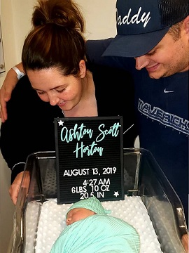 Baby Horton Has Arrived