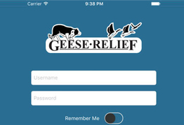 Geese Relief App