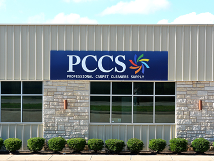 PCCS Building front sign.