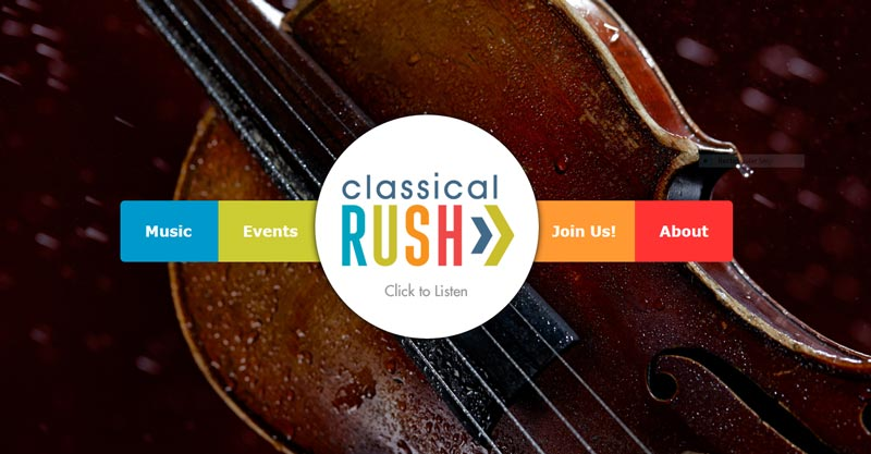 classicalrush.org home page