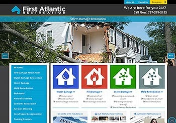 First Atlantic Fire Website
