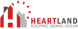 Heartland Roofing, Siding & Windows Logo