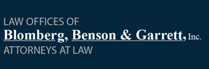 Bloomberg, Benson, and Garrett Logo